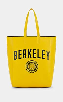 "Calvin Klein Men's ""Berkeley"" Leather Tote Bag - Yellow"