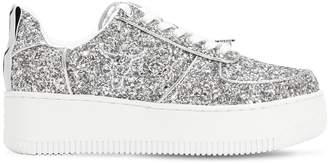 Windsor Smith 50mm Rosine Glittered Sneakers