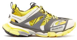 Balenciaga Track Low Top Trainers - Womens - Yellow