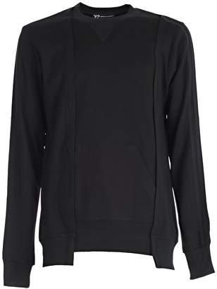 Y-3 Y 3 Yohji Yamamoto Patchwork Sweater