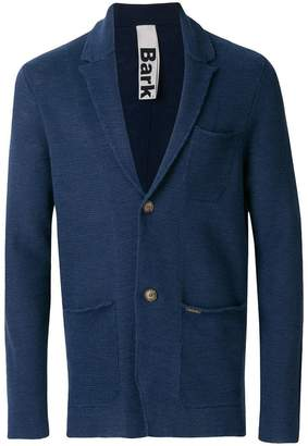 Bark notched collar blazer