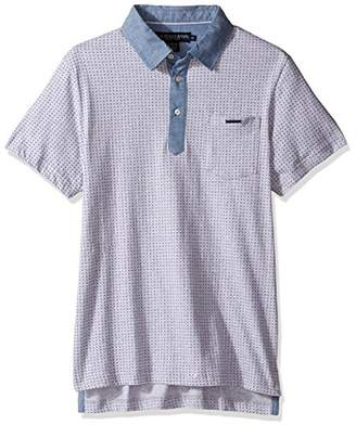 U.S. Polo Assn. Men's Color Blocked Short Sleeve Classic Fit Shirt