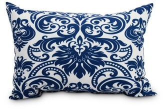Simply Daisy's Alexys 14 x 20 inch Blue Floral Decorative Floral Outdoor Pillow