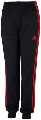 adidas Boys Mid Rise Cuffed Track Pant - Preschool / Big Kid