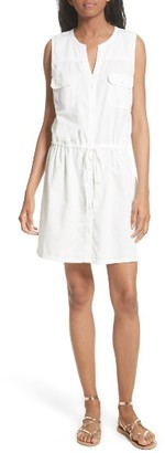 Women's Soft Joie Tawna Drawstring Shirtdress $198 thestylecure.com