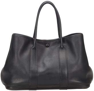 Hermes Garden Party leather tote