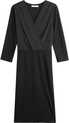 Max Mara V-Neck Dress with Wool