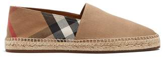 Burberry House Check Espadrilles - Mens - Multi