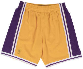 Mitchell & Ness Men Los Angeles Lakers Swingman Shorts