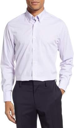 Stantt Slim Fit Check Dress Shirt