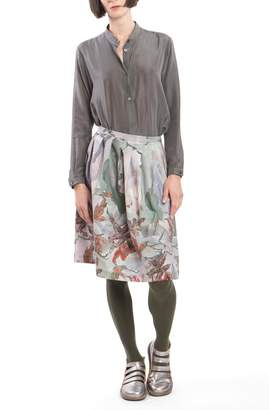 Clara Kaesdorf Skirt Pleats Red