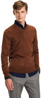 Tommy Hilfiger Luxury Wool V-Neck Sweater