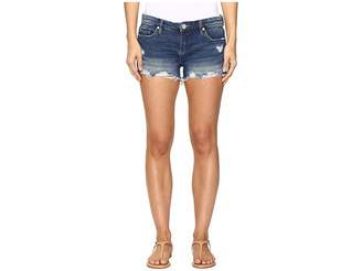 Blank NYC Denim Cut Off Shorts in Shake It Out