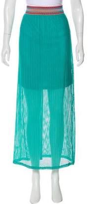 Blumarine Knit Midi Skirt