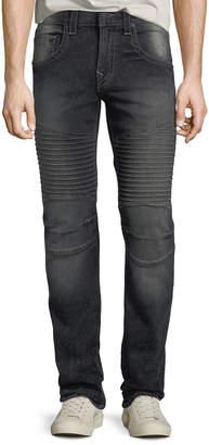 True Religion Men's Moto Axel Slim-Leg Jeans