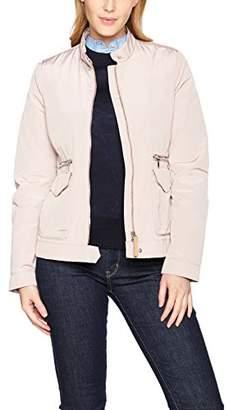 Geox Women's Coat Woman Jacket, Rose (Dark Antique Rose)