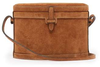 Hunting Season - Trunk Suede Cross Body Bag - Womens - Tan