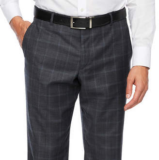 STAFFORD Stafford Checked Slim Fit Stretch Suit Pants
