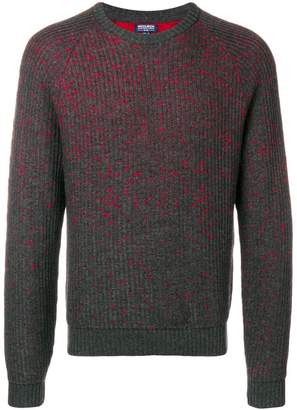 Woolrich flecked rib knit sweater