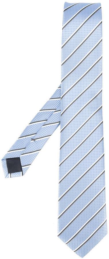Hugo BossBoss Hugo Boss diagonal stripe tie