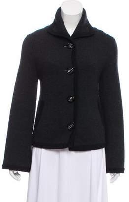 Alice + Olivia Tailored Wool Cardigan