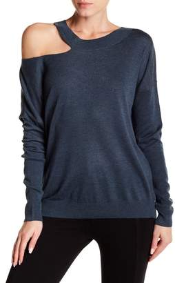 Melrose and Market Slash Neck Sweater