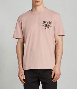 AllSaints Barbed Palm Crew T-Shirt