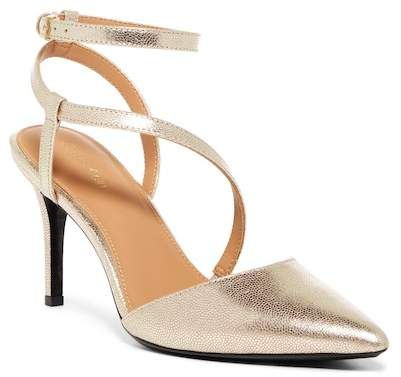 Calvin Klein Ganya Metallic Stingray Embossed Pump