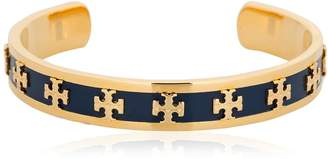 Tory Burch Raised Enamel Logo Cuff