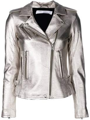 IRO metallic biker jacket