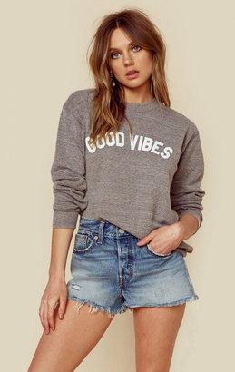 Suburban riot good vibes unisex sweatshirt $64 thestylecure.com