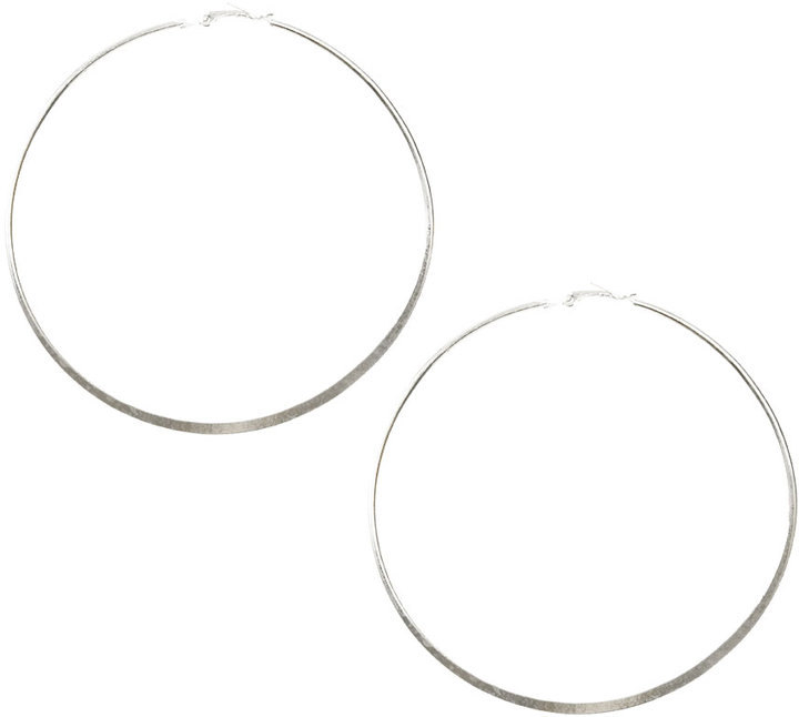 Large Basic Hoop Earring