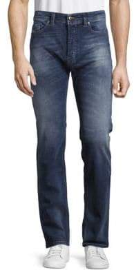 Diesel Safado Straight-Leg Cotton-Blend Jeans