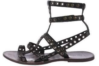 Isabel Marant Leather Embellished Sandals