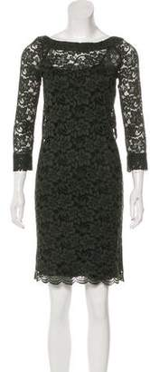 Diane von Furstenberg Lace Long Sleeve Dress
