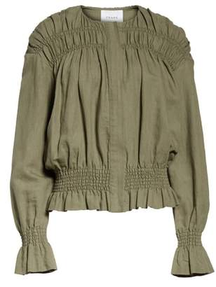 Frame Smocked Jacket