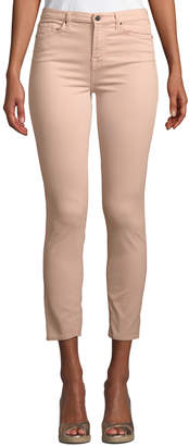 7 For All Mankind Jen7 By Skinny Ankle Jeans, Pink