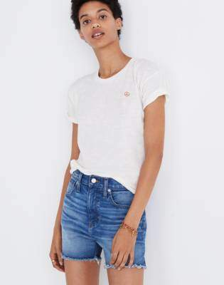 Madewell The Perfect Jean Short in Butler Wash