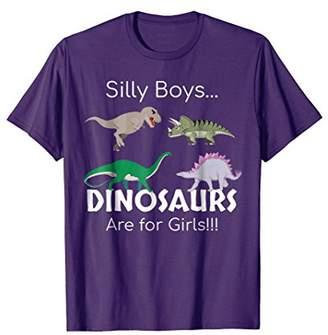 Cute Dinosaur T Shirt - Silly Boys