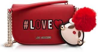 Love Moschino Love Flap Top Shoulder Bag