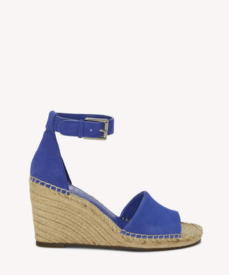 Vince Camuto Women's Leera Espadrille Wedges Pure Size 5 Leather From Sole Society