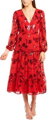 Talulah Sequined Midi Dress