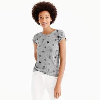 Sequin heart T-shirt $36.50 thestylecure.com