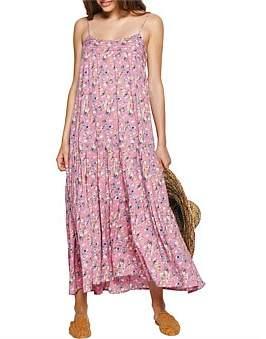 AUGUSTE Viola Vacation Maxi Dress