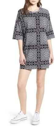 Converse x Miley Cyrus Bandana Print T-Shirt Dress
