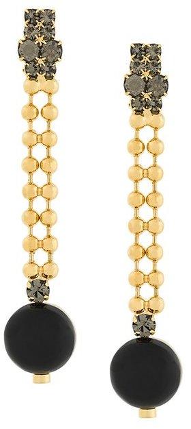 MarniMarni circle pendant clip on earrings