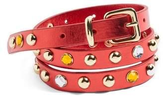 Topshop Jewel Studded Belt