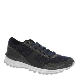 Navy Boucle Dax Trainers