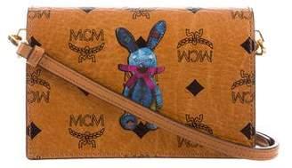 MCM Rabbit Visetos Crossbody Bag