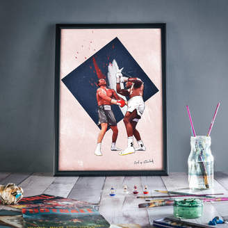 Art of Football From The Deep: Boxing Print